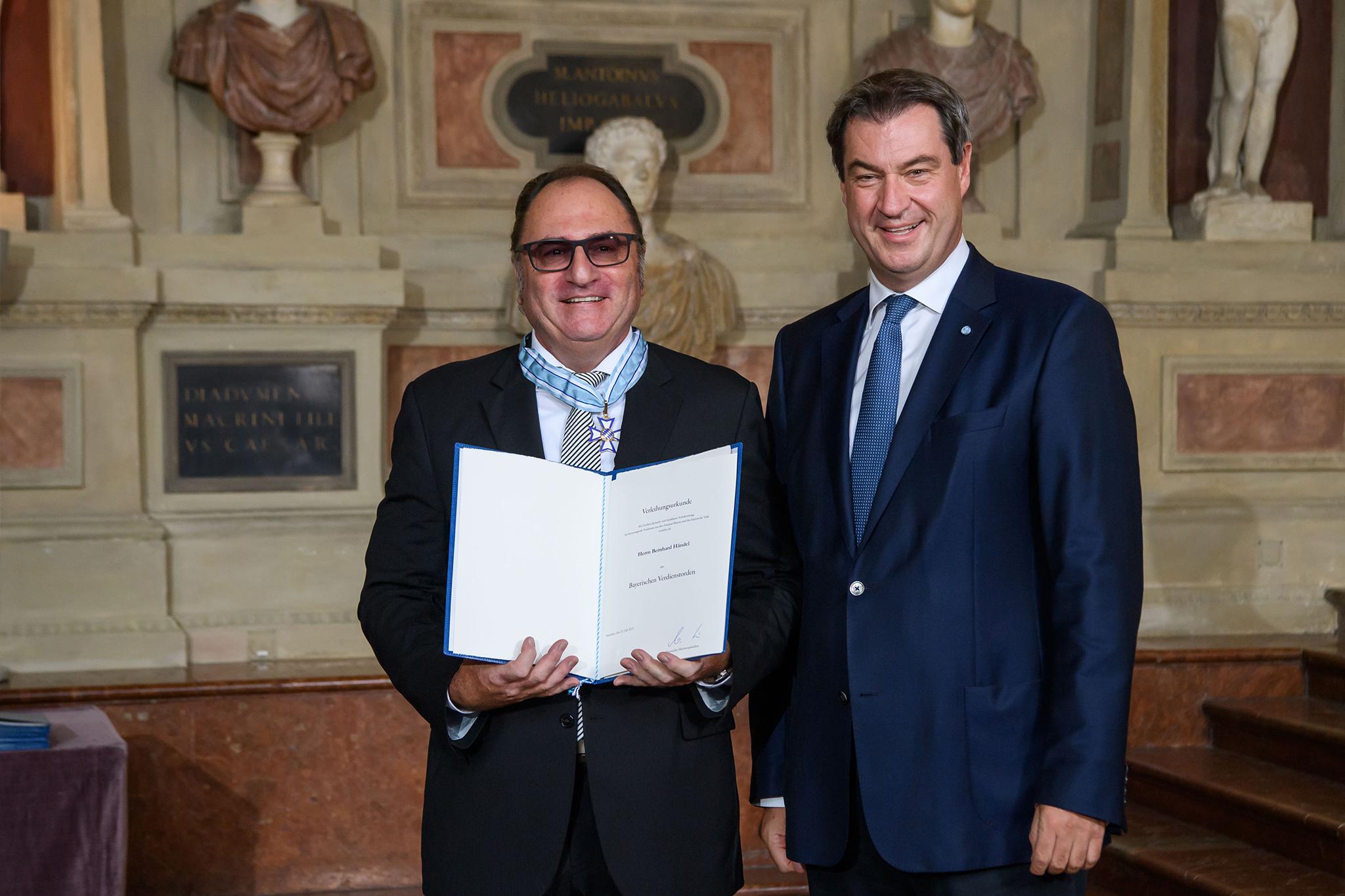 Bayerischer Verdienstorden für Bernd Händel